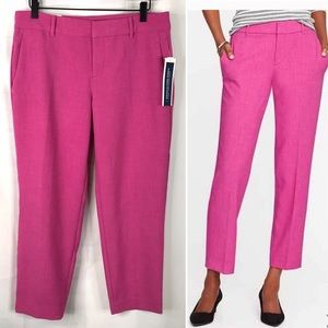 Old Navy NWT Harper Cosmos Pink Mid Rise Pants 6